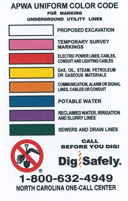 Dial 811 For Public Utility Locating We Bore It Hex colors #ffffff, #b22234, #3c3b6e. dial 811 for public utility locating